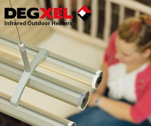 Infrared outdoor heaters degxel
