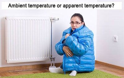 How to increase the apparent temperature in a heated room without increasing the bill?