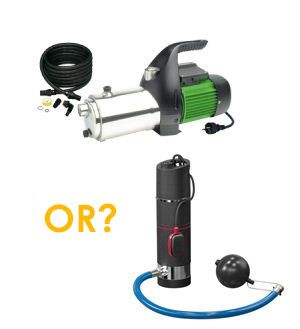 how to choose a submersible pump for a well water pumping?